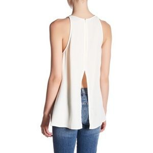 Topshop Milo Split-Back Tank Top
